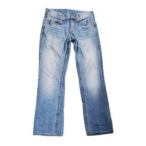 Distressed True Religion Jeans